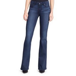 Paige Skyline Boot Cut Jeans Size 27 Dark Wash